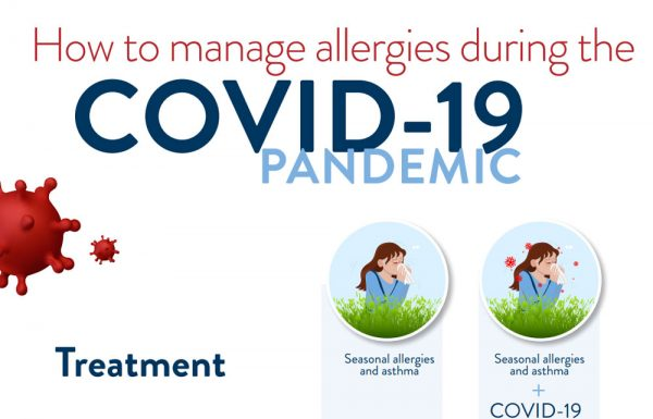 How to manage allergies during the COVID-19 pandemic